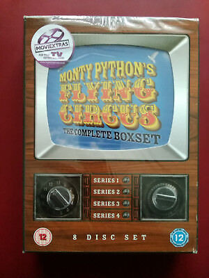 Monty Python's Flying Circus Complete 1-4 DVD UK New Sealed Slight damage to box