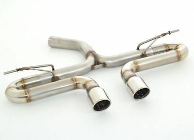 Nil Stainless Steel Duplex End Pipe System for VW GOLF VII GTD with R32