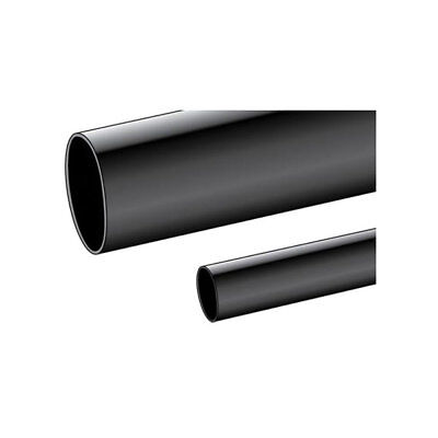 Alpha Wire P1050 BK005 Multi purpose PVC Tubing Black 9mm (100ft reel)