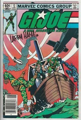 G.I. Joe signed  12 strict VF/NM Larry Hamma! Comes with certificate from Kermit