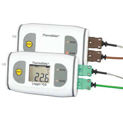 ETI 292-501 Thermocouple ThermaData Logger Type K LCD