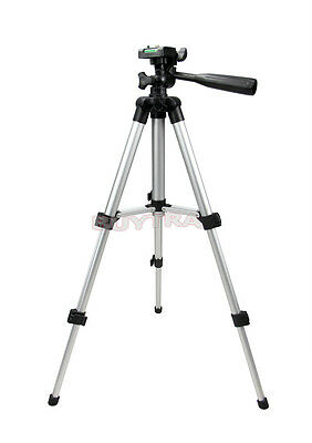 Portable Aluminum Standing Tripod Mount for Canon Nikon Camera Camcorder HF