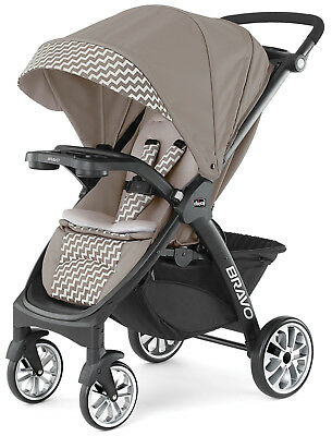 Chicco Bravo LE One Hand Quick Fold Baby Single Stroller Singapore NEW