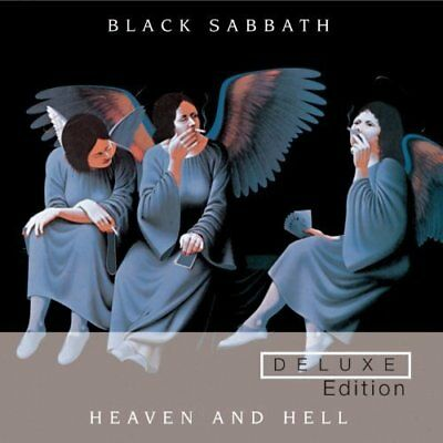 Black Sabbath Heaven And Hell Deluxe Collector's Edition 2 Cd Set