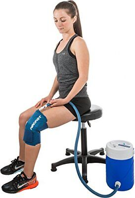 Aircast Cryo Cuff Knee Cold Therapy for Post-Operative Revocery & Injuries - L