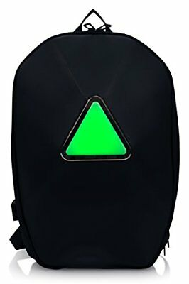 Trakk Armor Smart App Enabled Bluetooth LED Light Outdoor Backpack for Cycling