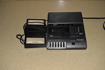 Panasonic Vsc Variable Speech Control Tape Recorder # Rr-830 W/ Foot Pedal (Bb)