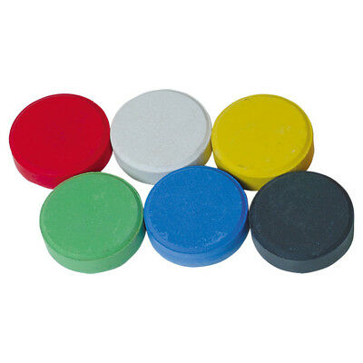 Brian Clegg Tempera Colour Paint Blocks Large - Pack of 6