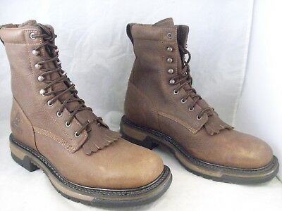 19f0f14f8f7 New Rocky Mens Original Ride Waterproof Western Lacer Boot (Rkw0172) 10 Med  $170