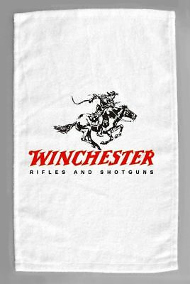 """Winchester Rifles 11x18""""  Towels Vintage Signs Advertising"""
