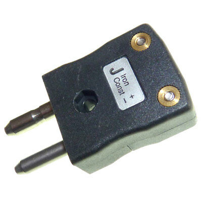 Labfacility AS-J-M Type J ANSI Standard Thermocouple Connector In-Line Plug