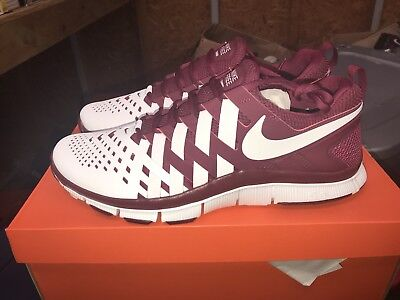 e0d355d132bd5 MENS NIKE ID Free 5.0 Tr Running Training Shoes Size 13 Red white ...