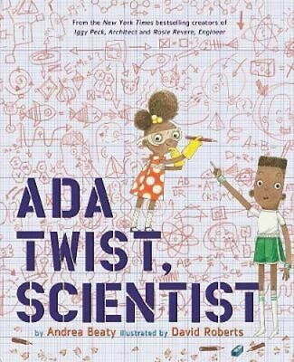 NEW Ada Twist, Scientist By Andrea Beaty Hardcover Free Shipping