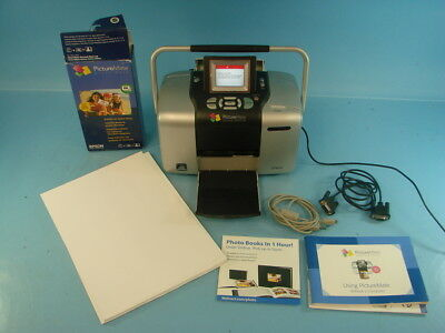 Epson Picturemate 500 B351a Photo Printer With 2 Ink Cartridges And