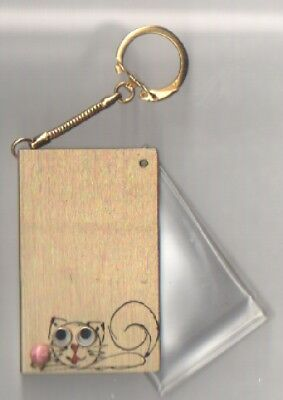 Photo Keychain   Vintage Purse Accessory