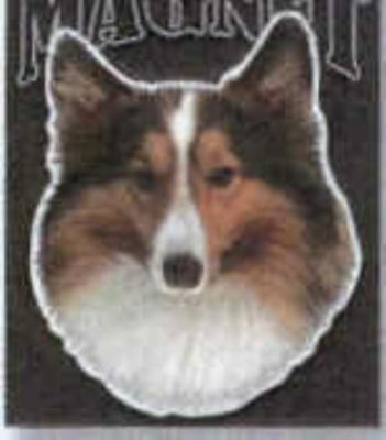 Car Magnet Die-cut SHELTIE Dog Breed discontinued CLEARANCE