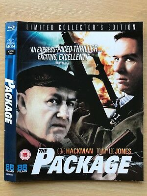 THE PACKAGE ~ 88 Films UK Blu-ray Slipcover ONLY - NO DISC!!!!!