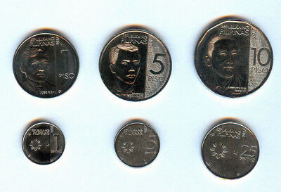 New BSP Philippine 10 Pesos- 1 Centavo NEW GENERATION COINS Banko Sentral
