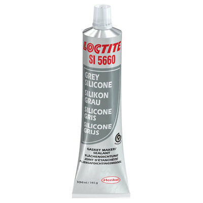 Loctite 2064521 SI 5660 Silicone Grey Water & Glycol Resistant 100ml