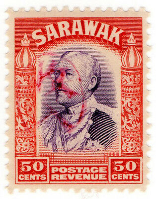 (I.B) Sarawak Revenue : Japanese Occupation OP 50c