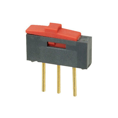 Taiway 600A-611-M2-R Low Power Slide Switch SPDT