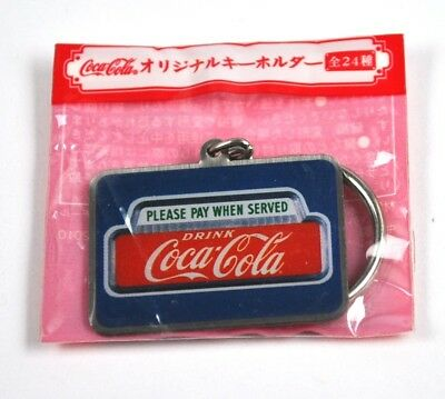 Coca-Cola Japan Coke Schlüsselanhänger Key Chain Please Pay When Served