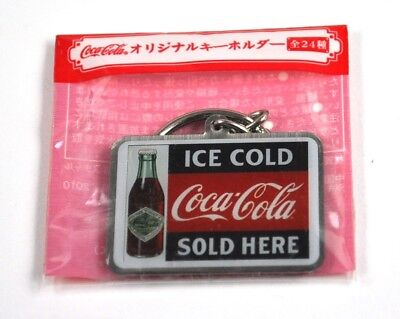 Coca-Cola Japan Coke Schlüsselanhänger Key Chain Flasche Ice Cold Sold Here