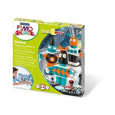 Fimo Kids Robot Form And Play Set - Modelling Clay Oven