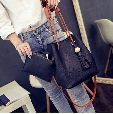 HoT PU Leather Shoulder Bag Tote Purse Crossbody Messenger Satchel Women Handbag