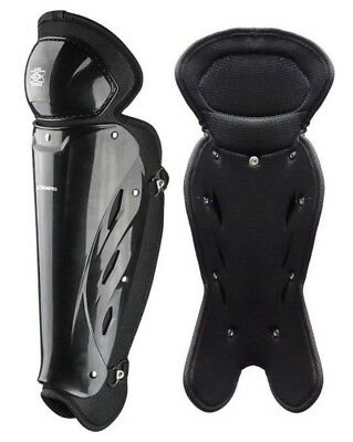 Champro Umpire Single Knee Leg Guard Baseball Softball Protection Black CG108-B
