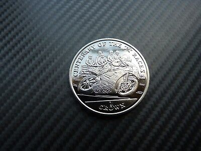 Isle of Man 2007 - Centenary of the TT Races: Joey Dunlop - Uncirculated 1 Crown