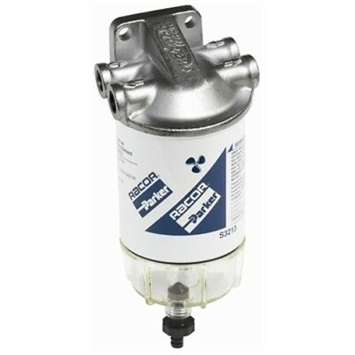Boat Fuel Water Separator Filter Kit with Parker Racor Filter & Collection Bowl
