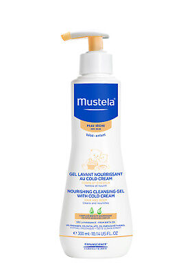 New Mustela Nourishing Cleansing Gel With Cold Cream 300ml