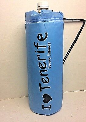I Love Tenerife Insulated Drinks  Cool Bag Carrier Fits 2L & 1.5L Bottles