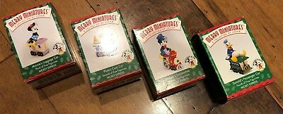 Hallmark Merry Miniatures Ornaments 1998 Disney Mickey Express Free US Shipping