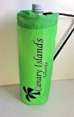 Canary Islands Green Insulated Drinks  Cool Bag Carrier Fits 2L & 1.5L Bottles