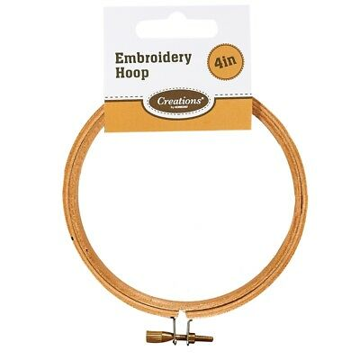 """4"""" Wooden Embroidery Hoop - Creations Korbond 4 Inch"""