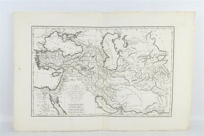 Antique French Ancient History Map Middle-East/Babylon/Persia d'Anville