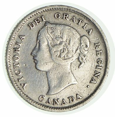 1896 Canada 5 Cents *9631
