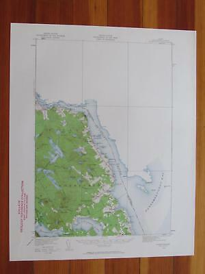 Perry Maine Map.Robbinston Topo Map Maine 1939 Calais St Croix River Passamaquoddy