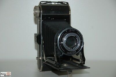 Beier 6x9cm Beirax Junior Folding Camera Feinmess Dresden Bonotar 10,5