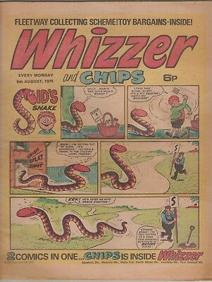 Whizzer And Chips Comic 9Th August 1975
