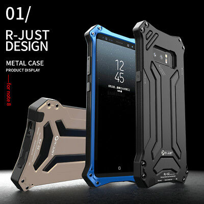 Shockproof Waterproof Metal Armor Case Cover For Samsung Galaxy S10 Plus Note 10