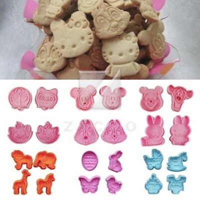 Resin Kitchen Cake Cookie Cutter Biscuit Mold Baking Pastry Xmas Party MG