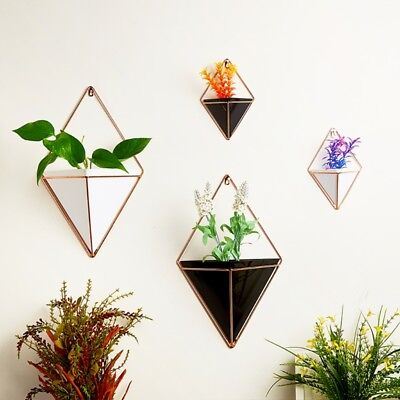Wall Hanging Green Plant Wall Hanging Planter Box Pot Flower Holder Ornament