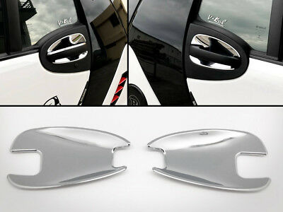 Exterior Chrome Inner Door Handle Shell Covers For Smart 451 Fortwo 2007-2014
