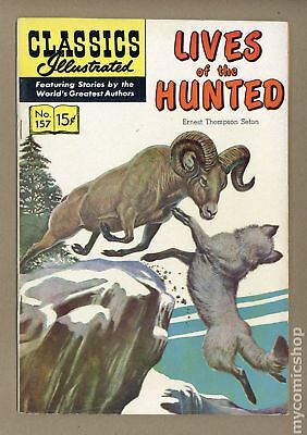 Classics Illustrated 157 Lives of the Hunted #1 1960 FN- 5.5