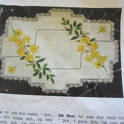 """54""""x54"""" Myart cl381 Vintage 100% Linen Fabric Tablecloth Unworked Embroidery"""