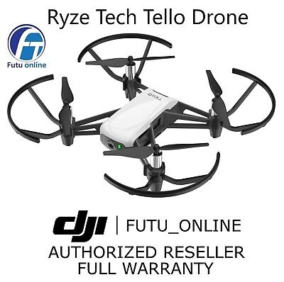 New Dji Tello Mini 720P Camera Drone White Rtf Fpv Wifi App Control 2018