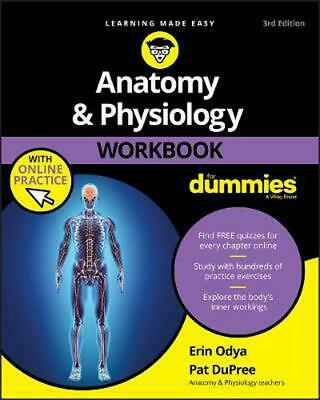 Anatomy & Physiology Workbook for Dummies With Online Practice by Pat Dupree (En